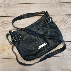 Relic Faux Leather Adjustable Strap Crossbody bag